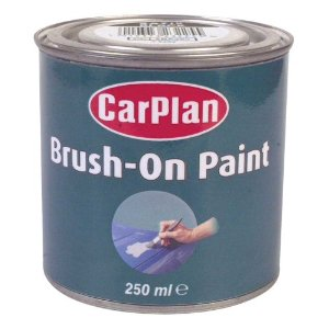 Carplan 250ml Black Satin Brush On Paint