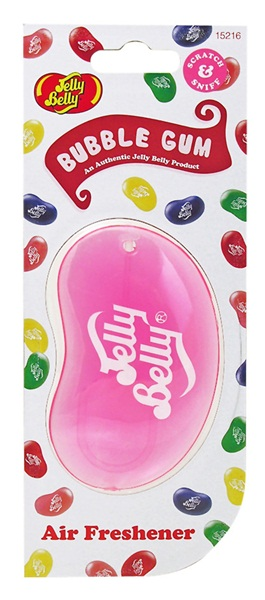 Jelly Baby 15216 Car Home Office Bubble Gum Scent Air Freshener 3D Single