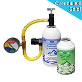 Car AC Aircon Air Con Air Conditioning Gas Top up Recharge Refill Regas Tool Kit