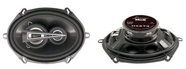 "Lanzar Max 5x7"" Coaxial 3 Way Pair Of Car Door Shelf Speakers 880w Ford Mazda Thumbnail 2"