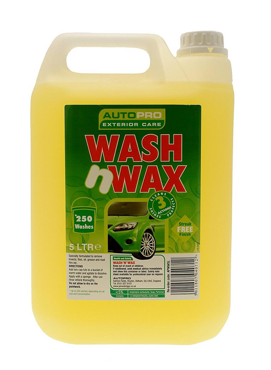 Autopro APWW5L Wash And Wax Car Shampoo 5 Litres
