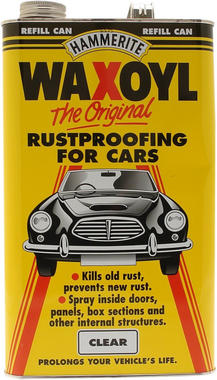 Hammerite 5092941 Waxoyl Refill Can 5 Litre Clear Thumbnail 1