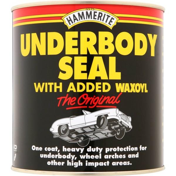 Hammerite 5092952 Underbody Seal With Waxoyl Black 500ml Single