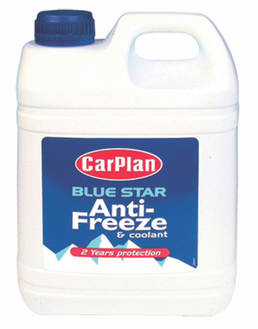 Carplan BSA002 2 Litre 2 Year Protection Blue Anti Freeze Coolant