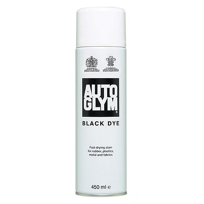 Autoglym 37012b Car Detailing Cleaning Exterior Black Dye 450ml Aerosol