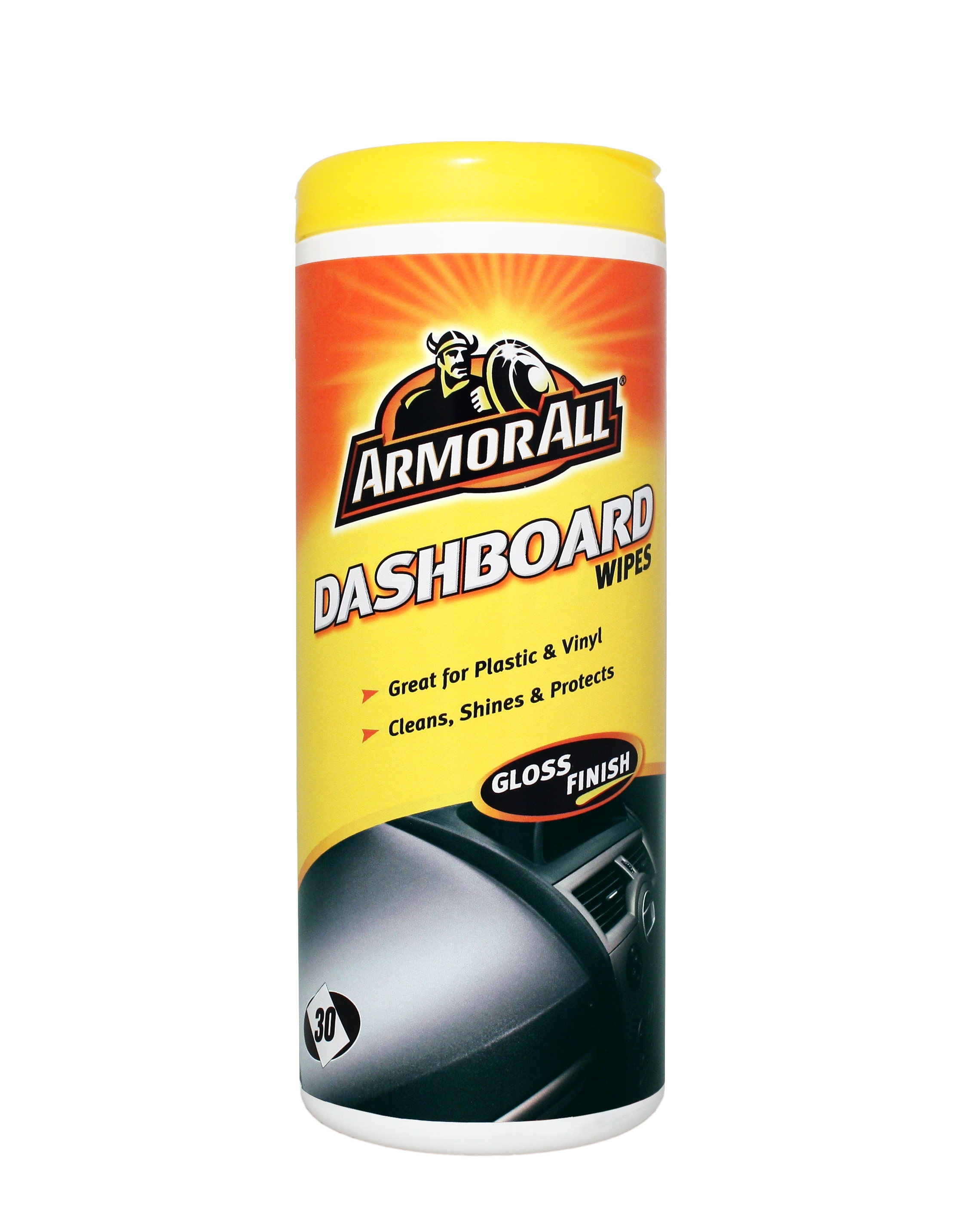 thompsons ltd armorall clo36030en car cleaning interior dashboard gloss finish wipes single. Black Bedroom Furniture Sets. Home Design Ideas