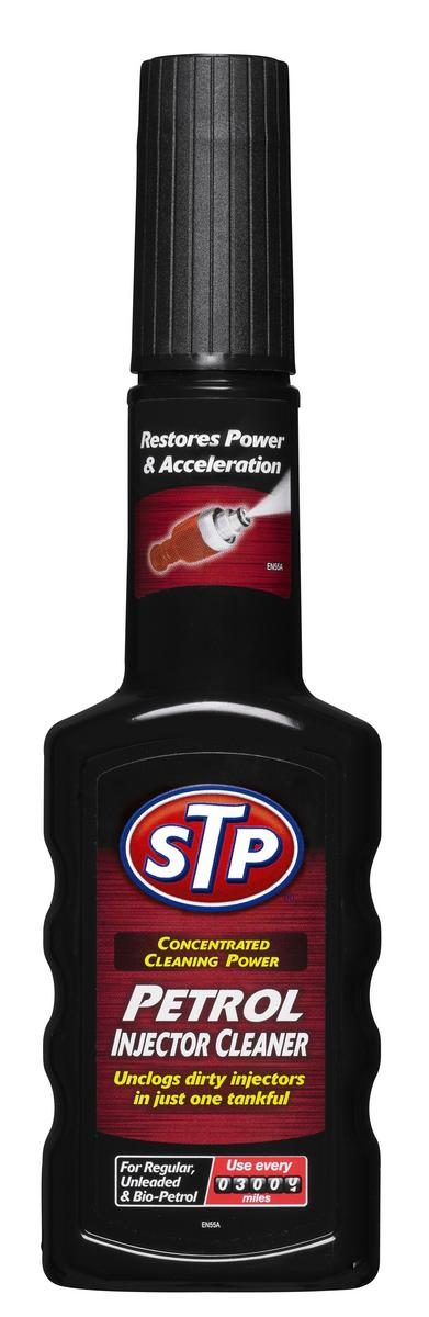 STP Petrol injector cleaner fuel system cleaner additive 200ml Improves Power