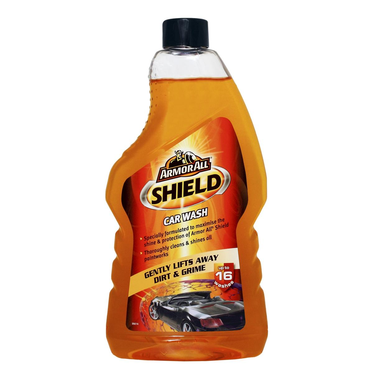 Armorall 18520EN Car Cleaning Detailing Slick Finish Wash Shampoo 520ml