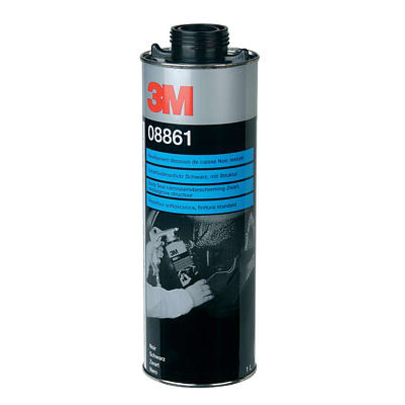 3M 08861 Underbody BlackTextured Body Schutz Coating Repair 1 Litre
