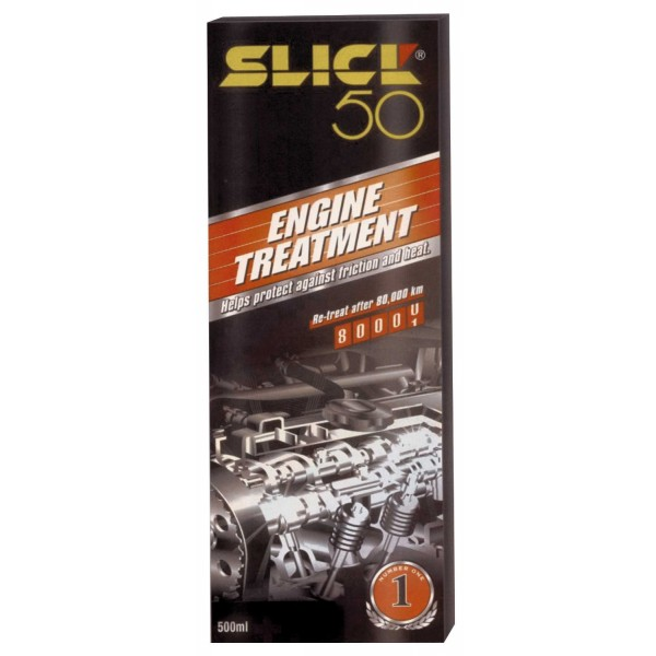 Slick 50 SLICK500 World Known Slick 50 Engine Treatment Long Lasting Protection