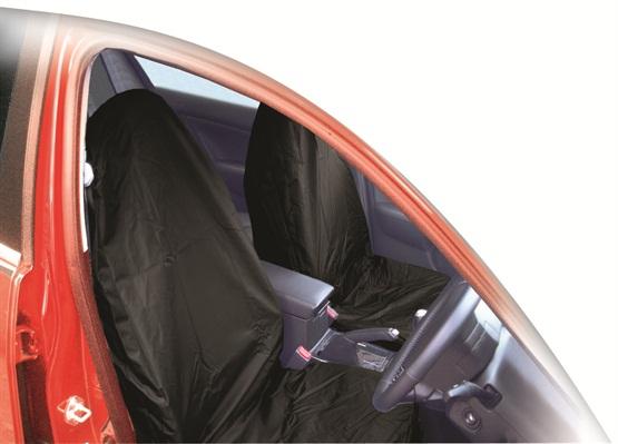 Streetwize SWBKSC Automotive Car Universal Fit Water Resistant Nylon Front Seat