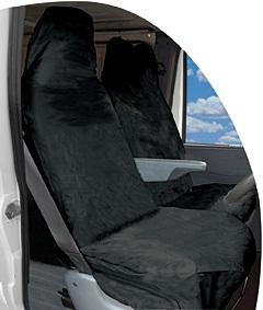 Streetwize HDVBKSC Automotive Heavy Duty Van Seat Covers Pair Thumbnail 1