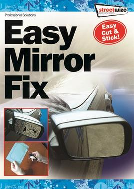 Streetwize SW794 Automotive Car Van Small Eazy Mirror Single Thumbnail 1