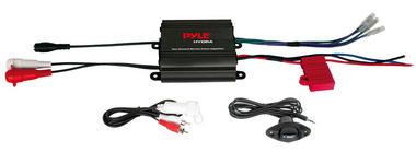 Pyle PLMRMP1B 2 Channel 400w WaterProof Micro Marine Amplifier Thumbnail 1