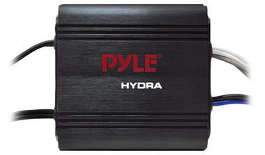 Pyle PLMRMP1B 2 Channel 400w WaterProof Micro Marine Amplifier Thumbnail 2