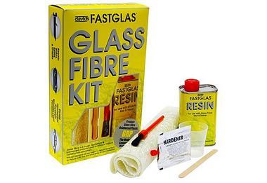 UPOGL/SM/D Up 0608 Isopon Fastglas Glass Fibre Complete Kit Thumbnail 1