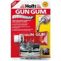 Hl1R6 Ax654 Holts Gun Gum Flexiwrap Long Life Steel Silencer Repair Thumbnail 1