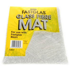 Isogfm Up 0614 Isopon Fastglas Glass Fibre Mat For Repairing Holes Thumbnail 1