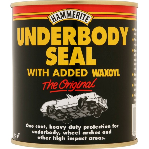 Hammerite 5092951 Undebody Seal With Waxoyl Black 500ml