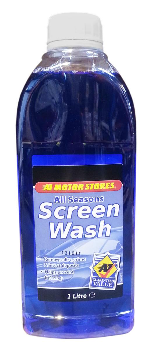 Moto SAX001 All Season Screen Wash 1 Litre