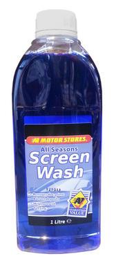 Moto SAX001 All Season Screen Wash 1 Litre Thumbnail 1