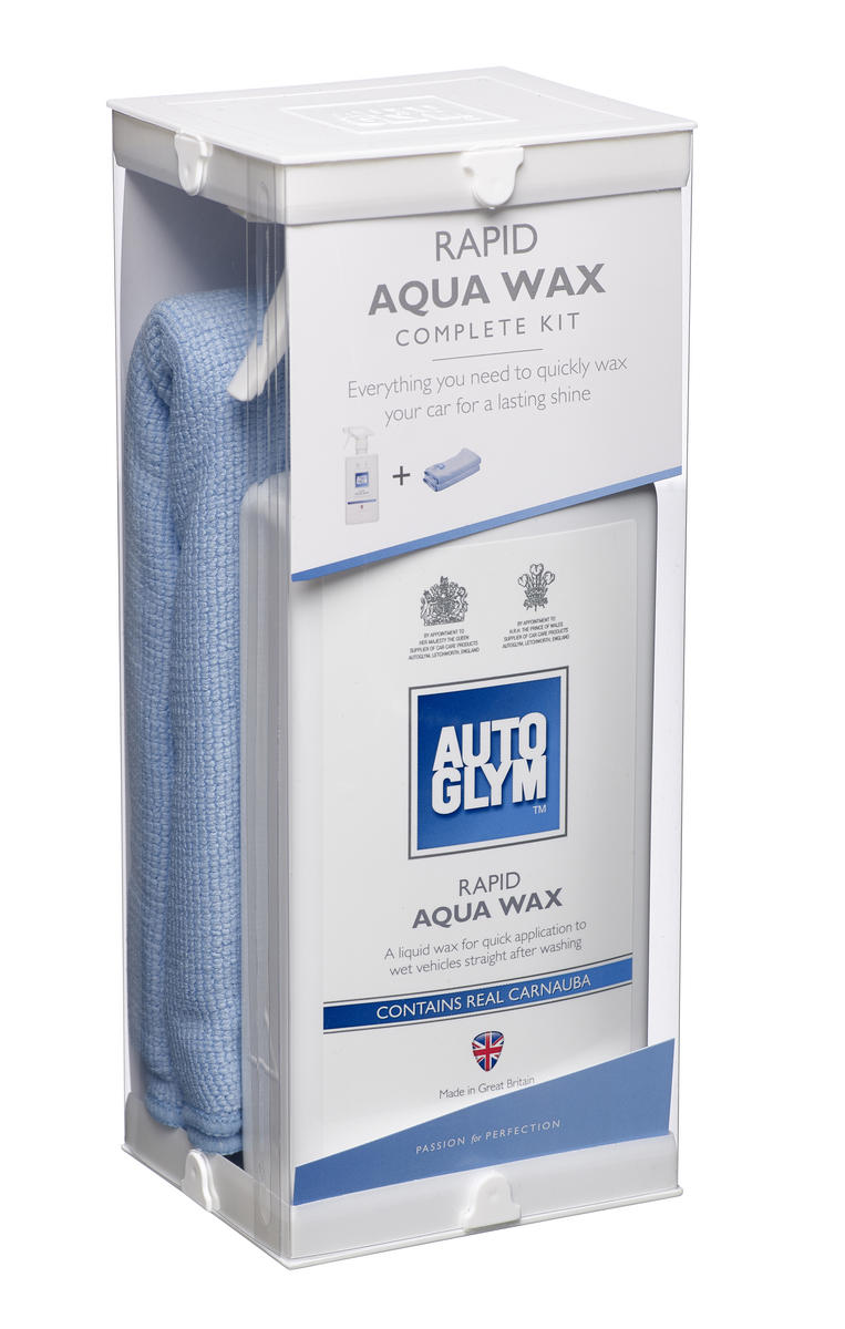 Autoglym Aqua Wax AWKIT Protection Car Detailing Valeting Kit