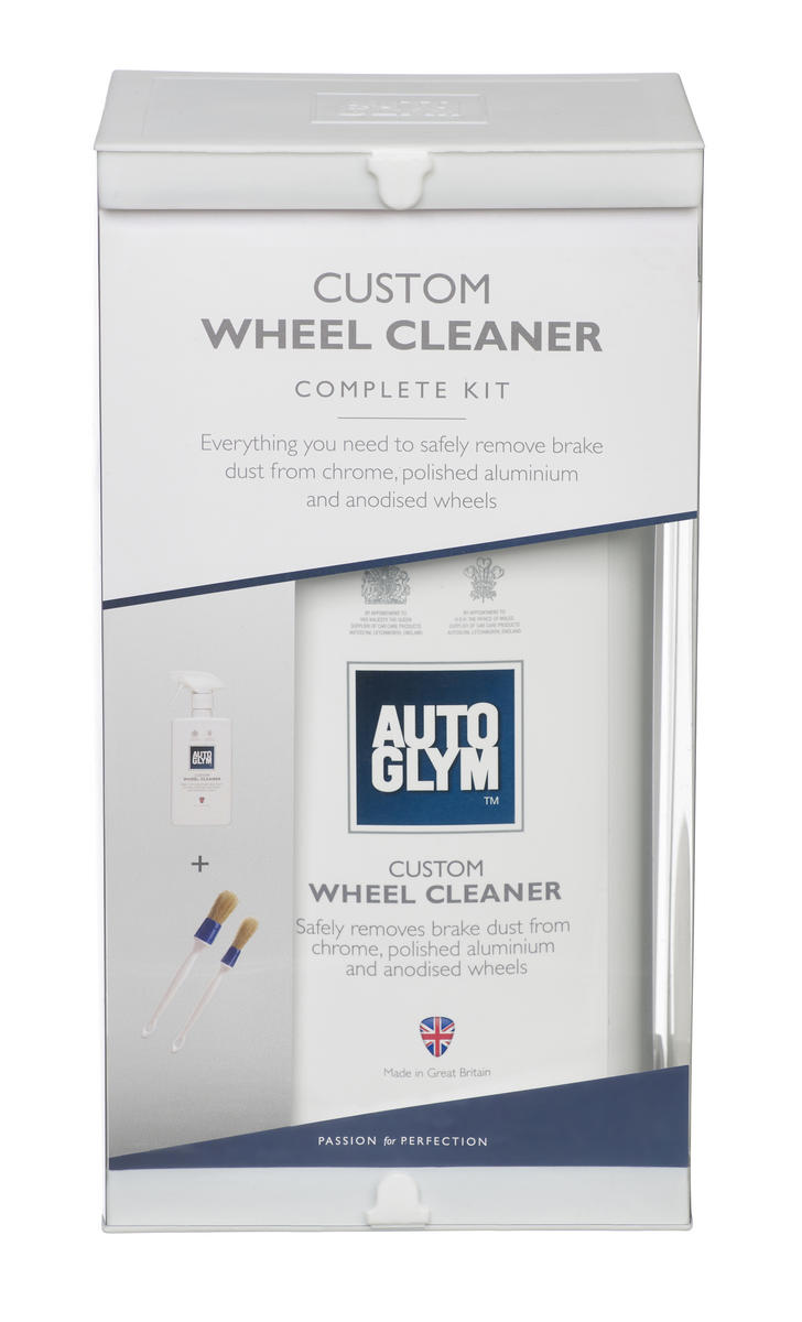 Autoglym CWCKIT Car Detailing Exterior Custom Wheel Cleaner Kit