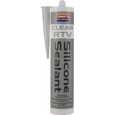 Granville 0235 Clear Rtv Silicon Sealant Single Thumbnail 1
