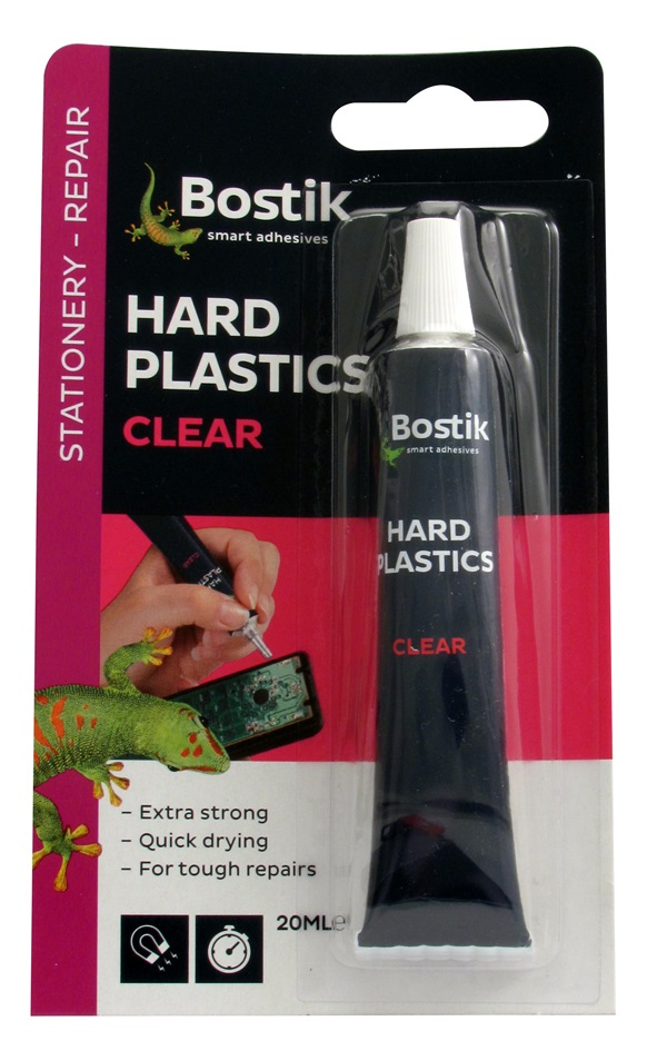 Bostik 80214 Hard Plastic Adhesive Tube 20ml