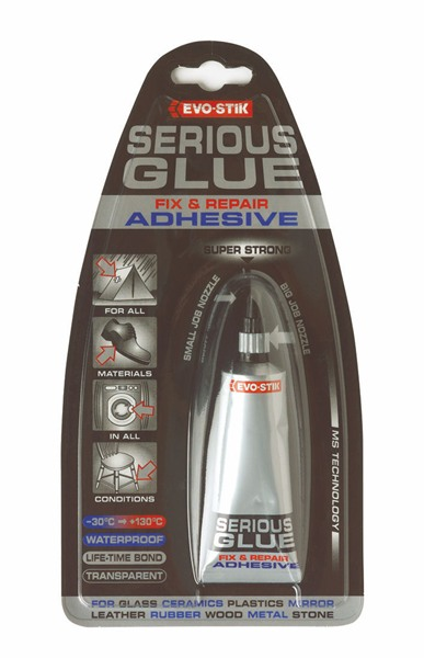 Evo-Stick 663671 Serious Glue Adhesive Tube 5 Grams