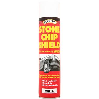 Hammerite 5092834 Stone Chip Shield White 250ml Single Thumbnail 1