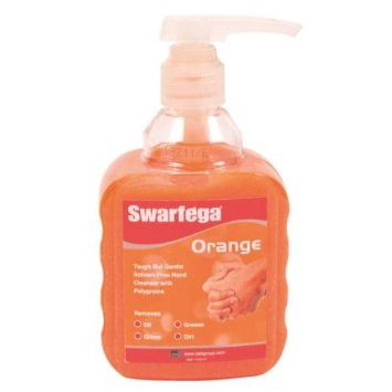Swarfega SOR400MP Orange Hand Cleaner Pump 450ml Thumbnail 1