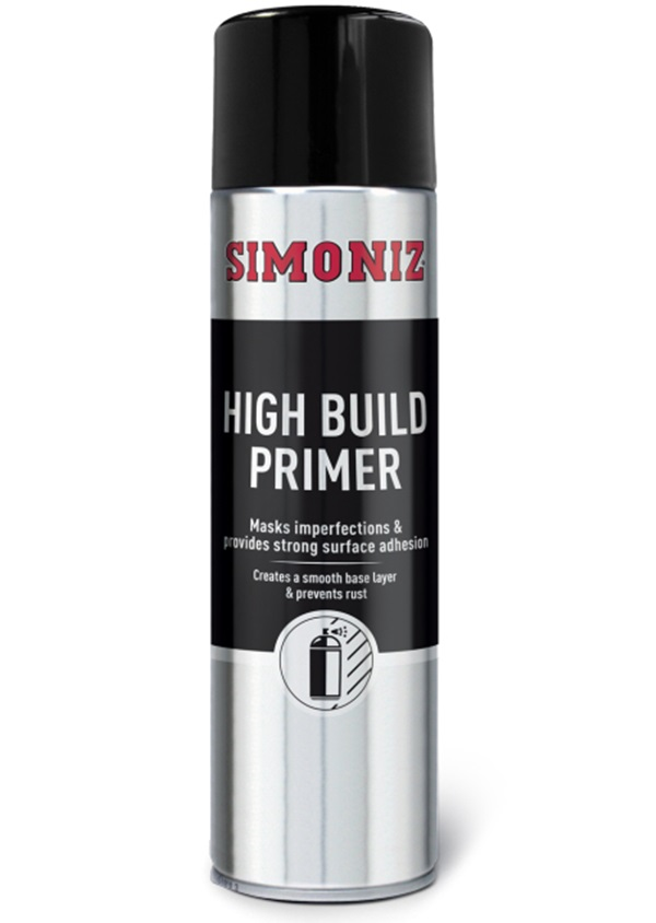 Simoniz SIMB90d High Build Primer Spray Aerosol 500ml