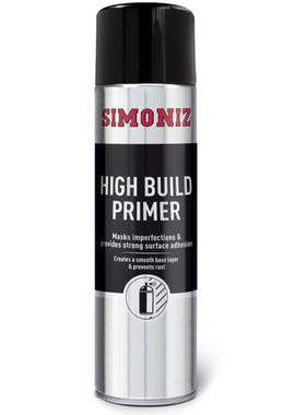 Simoniz SIMB90d High Build Primer Spray Aerosol 500ml Thumbnail 1