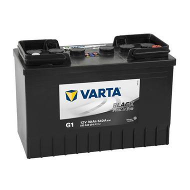 Varta G1 Heavy Duty 12 Volt 643 / 645 90Ah 540CCA 2 Year Commerial Industrial Battery