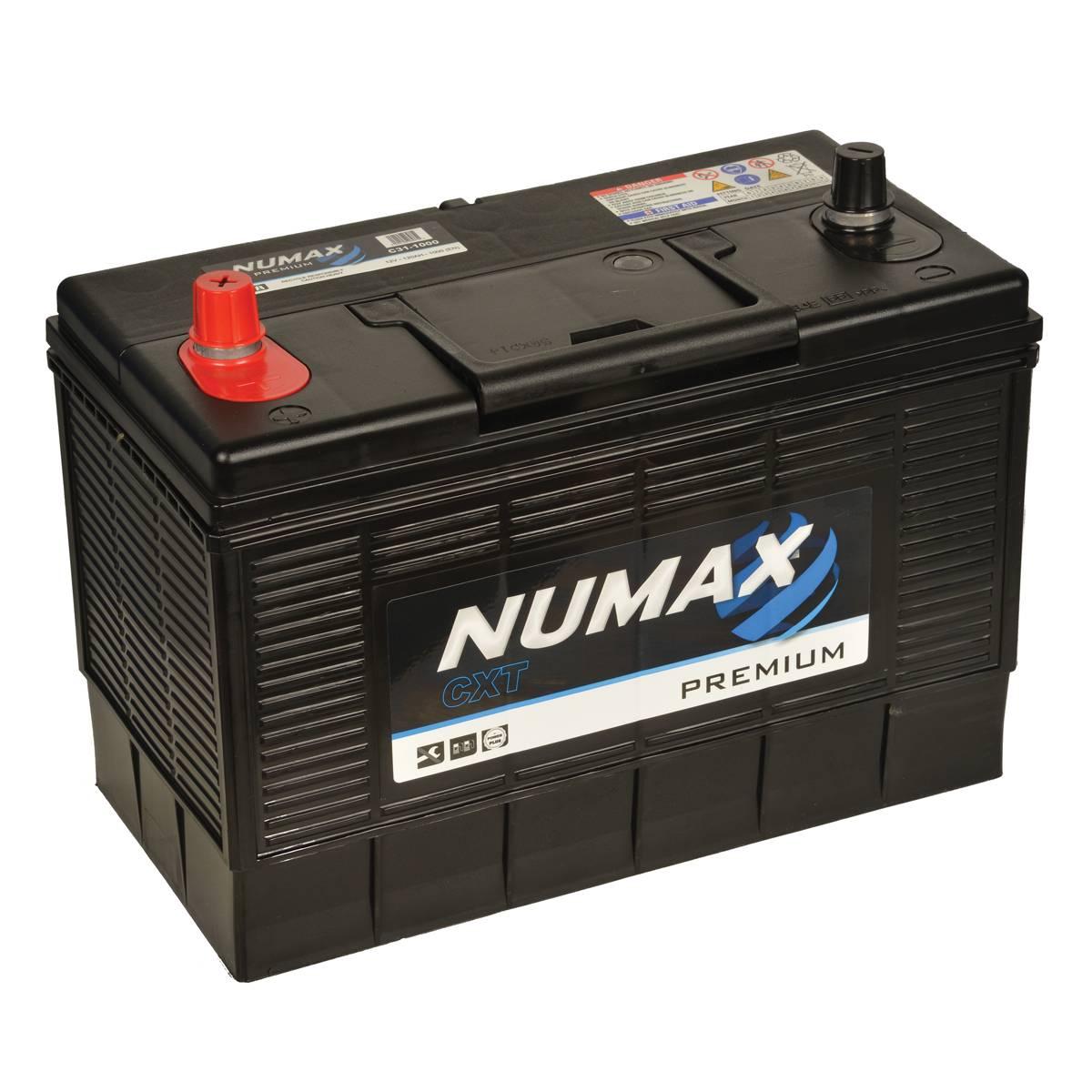 Numax Commerical Industrial C31-1000 12v 115Ah 1000CCA Battery