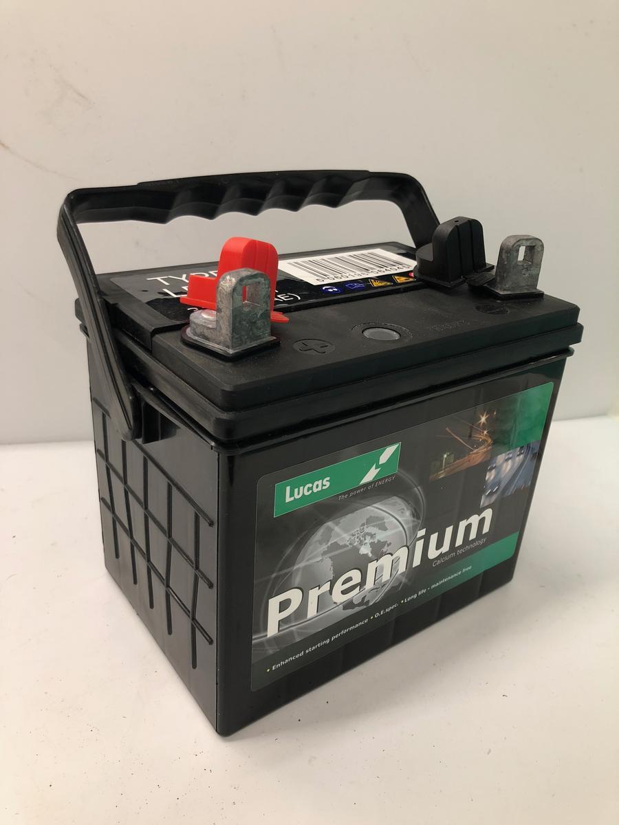 Lucas LP896 Premium 12v Garden Machinery Battery 32Ah 310CCA