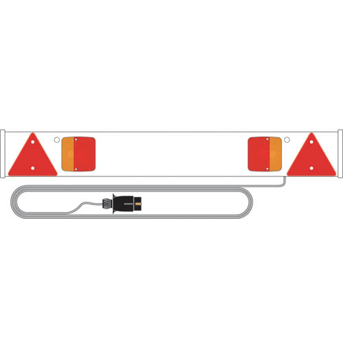 Ring Automotive RCT815/P 12V Trailer Towing 4' Trailer Board 5M Cable Single
