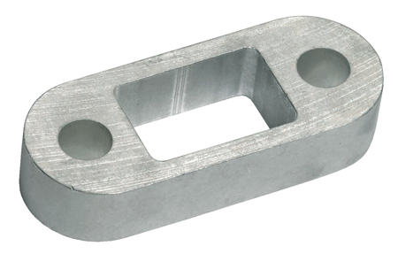 """Ring Automotive RCT767 Trailer Towing 1"""" Alloy Spacer Block Single"""