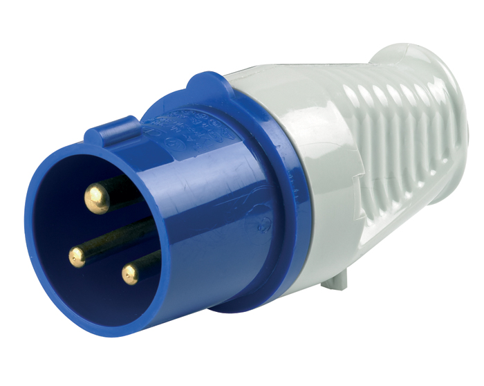 Ring Automotive A0043 12V Trailer Towing 16 Amp Mains Voltage Plastic Plug Single