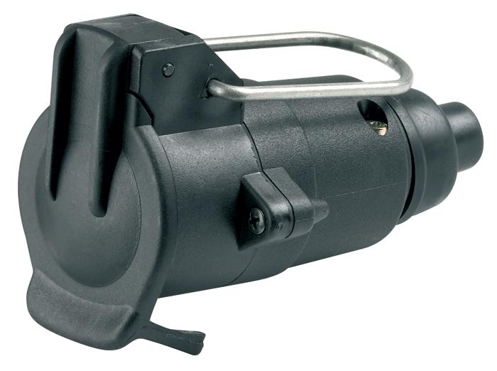 Ring Automotive A0018 12V Trailer Towing 12N Plastic Trailing Socket Single