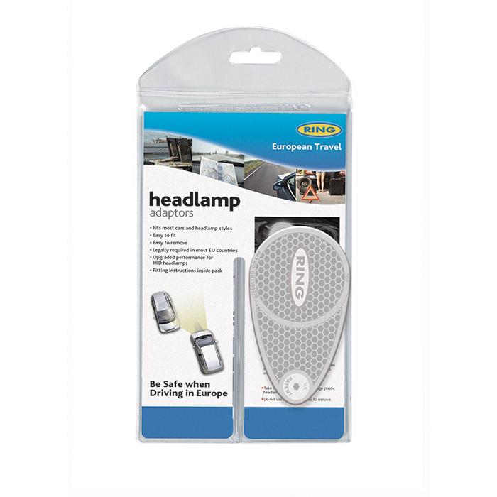 Ring Headlamp Converters, Beam Benders, Headlight Adaptors Europeon Travel Legal