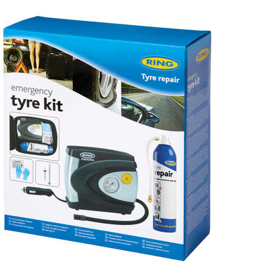 Ring Automotive RTK1 12V 85W Car Van Emergency Tyre Kit Single Thumbnail 1
