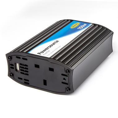 Ring Automotive RINVU150 12V 230V AC 150W In Car Invertor With USB Single Thumbnail 1