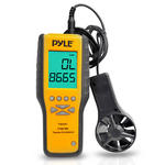 Pyle-Meters PMA90 Digital Anemometer / Thermometer for Air Velocity, Air Flow