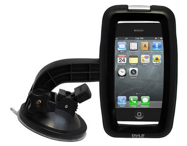 Pyle-SPORT PSIC55 Armoured Suction Cup Mount Mobile Phone Bracket For Smartphone Thumbnail 2