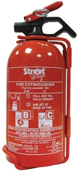 Streetwize SWFEBC Automotive Car Van Fire Extinguisher Single