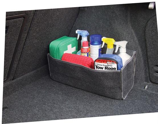 Streetwize SWBO Automotive Car Universal Fit Boot Tidy Bag Single