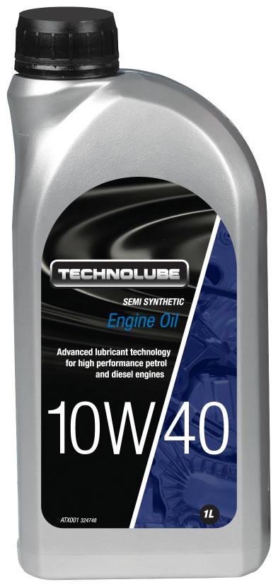 Technolube ATX001 10W40 Vauxhall General Motors Semi Synthetic 1 Litre Engine Oil
