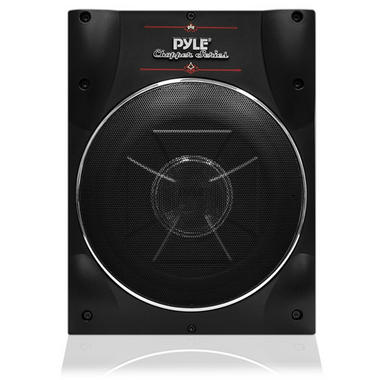 Pyle PLBASS2.8 8'' Super Slim Active Amplified Subwoofer System Thumbnail 2